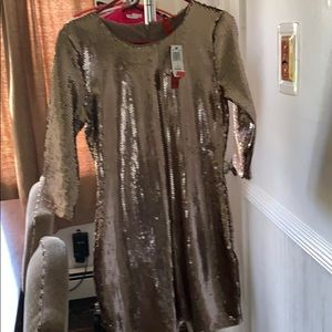 Sequin dress 5/48 brand new with tags